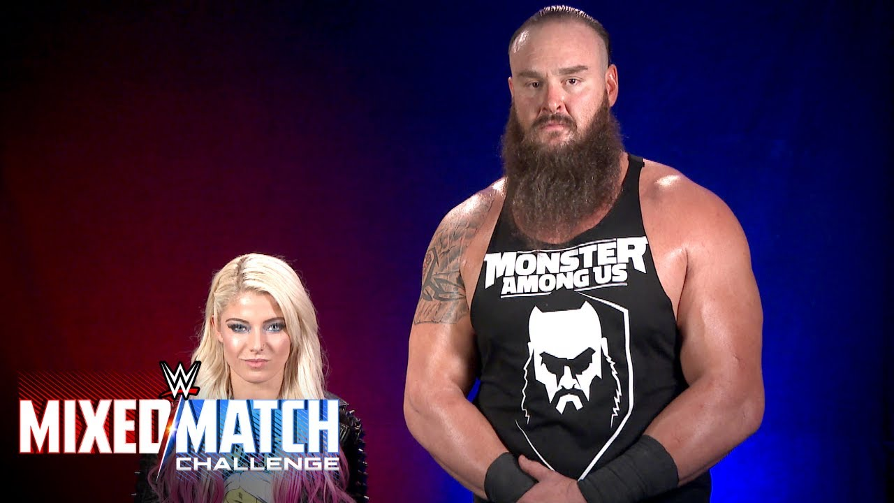 Braun Strowman & Alexa Bliss to stand tall for Connor's Cure in WWE Mixed Match Challenge