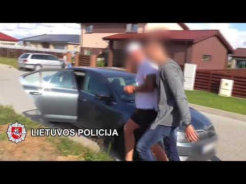 Klaipėdos policija sustabdė organizuotu nusikalstamumu įtariamų asmenų konfliktą