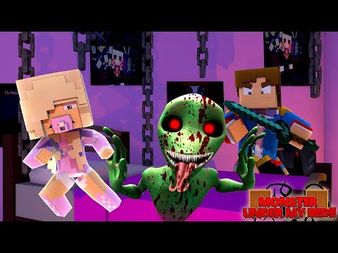 Minecraft THE MONSTER UNDER MY BED IS..... DAME TU COSITA.EXE!!