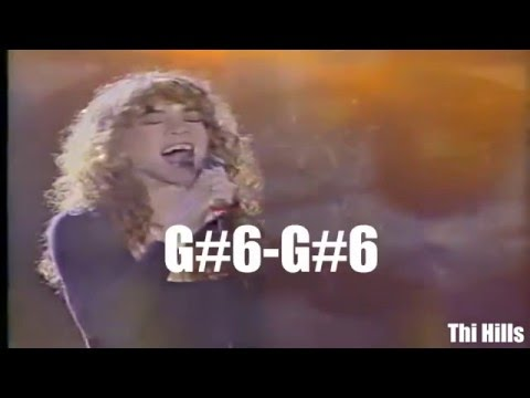 Mariah Carey incredibly fast Appoggiatura (Extreme vocal agility) [Legendas PT]