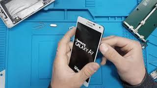 Samsung A7 Repair Sim Card Slot ( No network found- No Sim Card )