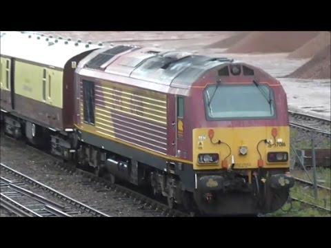 67014 & 016 Orient Express @ Chichester and Barnham - 10/9/16