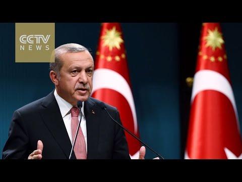 Turkey's Erdogan plays down Europe's impending vote