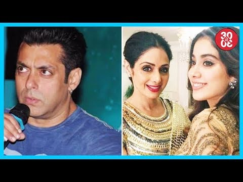 Salman In Dilemma Over Race 3 Music Composer, Sridevis Cameo In Jhanvis Debut Dhadak