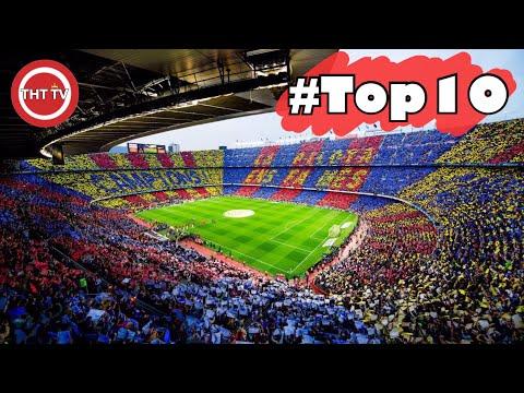 10 สนามฟุตบอล  ที่มีความจุเยอะที่สุดในยุโรป(ทะลุเกือบ 1 แสนคน)