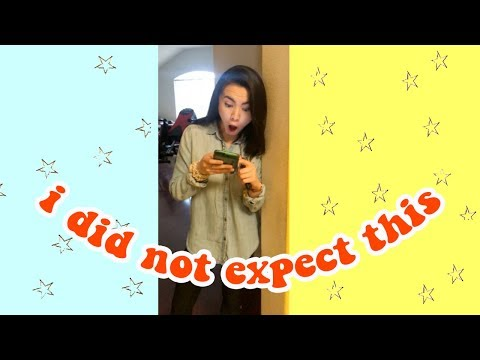 reacting to my decision letter - dance audition results