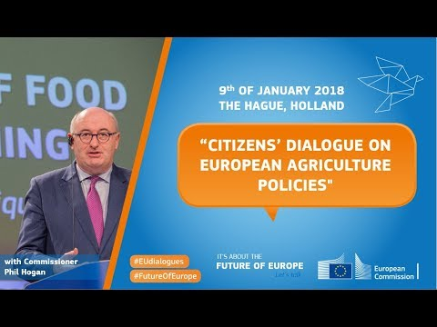 #EUdialogues in The Hague with Phil Hogan