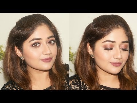 Brown Tones Eye Makeup Tutorial