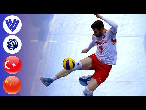 Turkey Vs. China - Full Match   Men's Volleyball World League 2017