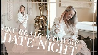 DATE NIGHT GET READY WITH ME // Valentines Makeup Routine // Fashion Mumblr