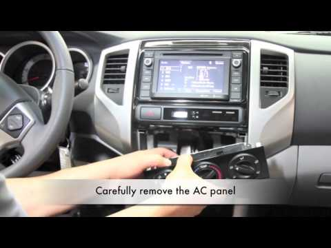 toyota tundra backup camera and monitor install how to. Black Bedroom Furniture Sets. Home Design Ideas
