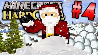 Minecraft HC #7! - Part 4 (FEATURING SANTA)