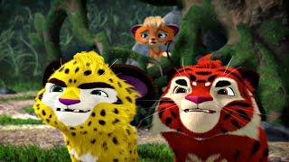 Лео и Тиг сборник серий с 11 по 20 Детям про животных Мультфильм HD