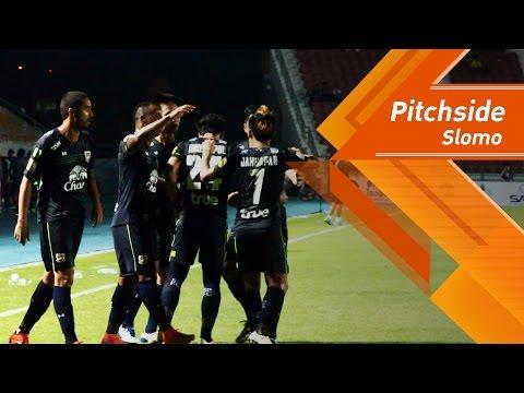 SuphanFC TV | PITCHSIDE | สุพรรณบุรี เอฟซี vs ชัยนาท ฮอร์นบิล | SLOMO | HD