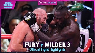 Tyson Fury v Deontay Wilder 3 🔥 Official Fight Highlights   Greatest Heavyweight Fight Of All-Time?