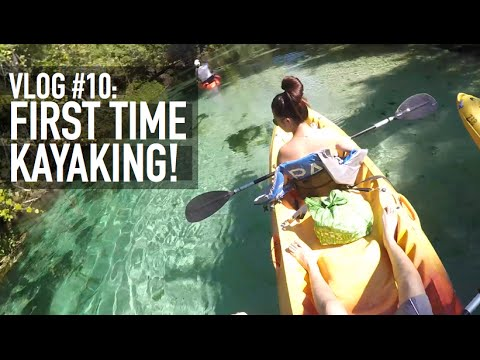 Vlog #10: Join me on my first Kayaking trip!
