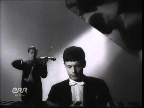 Brahms Scherzo played by Jüri Gerretz and Arbo Valdma 1969