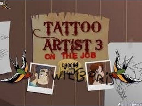 Let's Play Tattoo Artist 3 EP 1