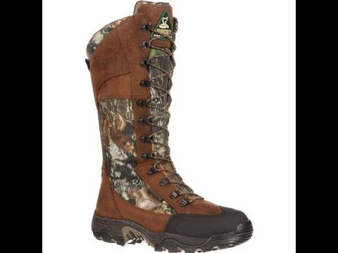 Hunting Boots Snake Bite Test