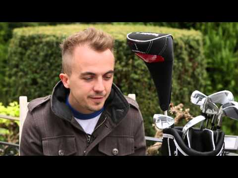 Malcolm in The Middle Star, Frankie Muniz has a chat with Lynx Golf CEO, Stephanie Zinser