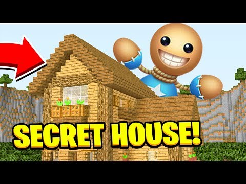 Minecraft : WE FOUND KICK THE BUDDYS SECRET HOUSE (Ps3/Xbox360/PS4/XboxOne/PE/MCPE)