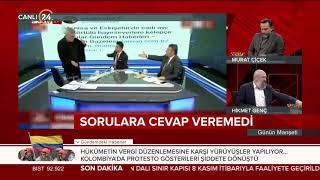 SP'li Cihangir İslam FETÖ tweetleri nedeniyle canlı yayını terk etti