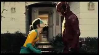 SUPER clip: Crimson Bolt & Boltie (Rainn Wilson & Ellen Page)