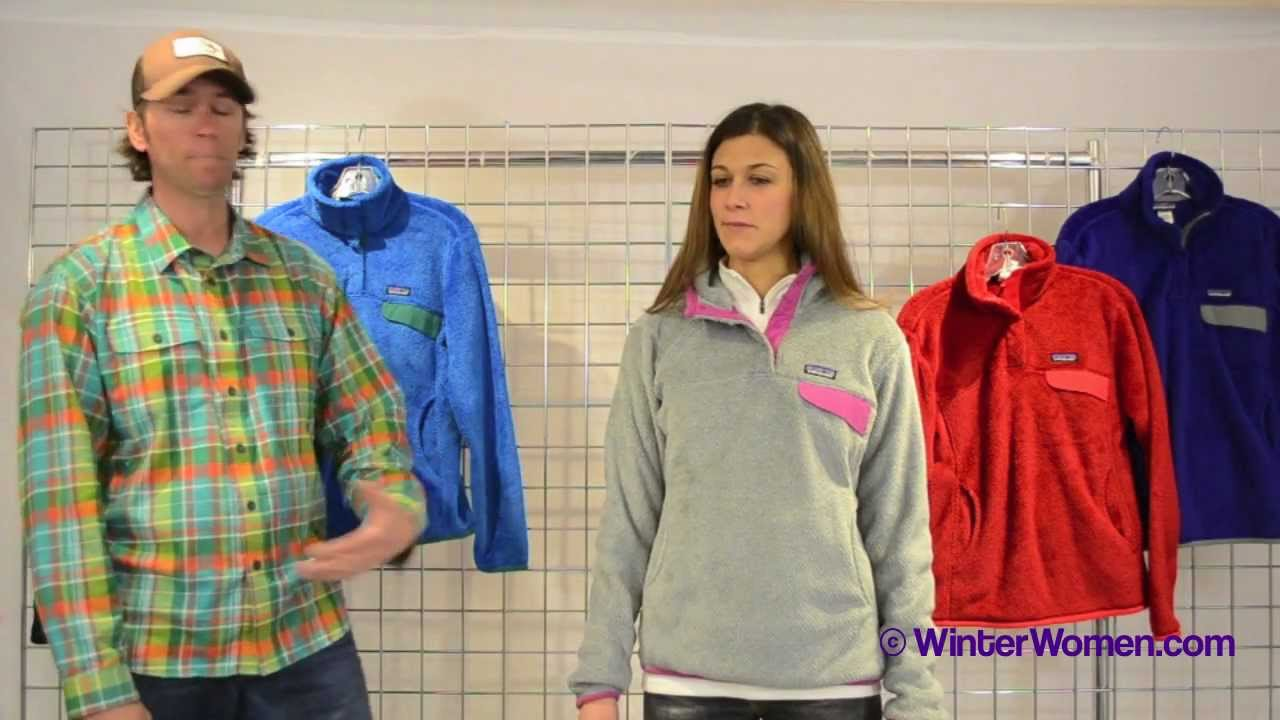 2012-2013 Patagonia Women s Re-Tool Pullover - YouTube 911cd91cd8
