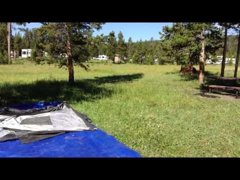 Campground Review in Yellowstone  Grant Village, Bridge Bay and Mammoth Spring