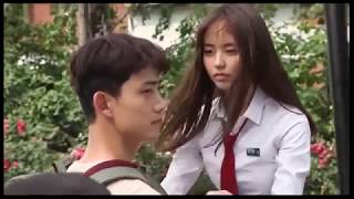 Kim So Hyun and Ok Taecyeon Kiss Scene BTS
