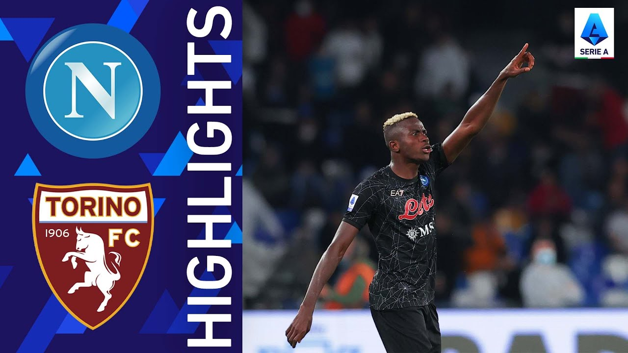 Download Napoli 1-0 Torino | Osimhen secures the points for Napoli | Serie A 2021/22