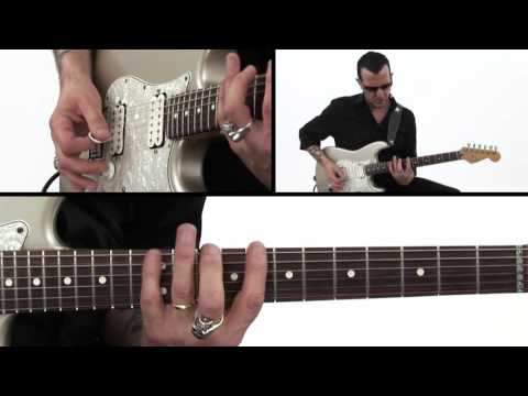 Blues Rock Guitar Lesson - Picking Exercises - Gary Hoey