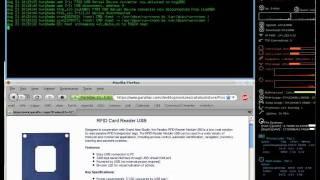 RFID Linux Test in Minicom