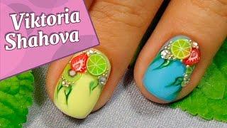 Дизайн ногтей ♥ #гель-лак ♥ #летний маникюр