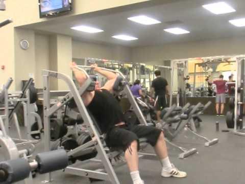 Hammer Strength - Pullover's - 3 Wheels - Mid Set - 10 Reps