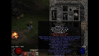 Crafting My First Ever Phoenix in a Sacred Targe - Diablo 2