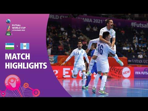 Uzbekistan v Guatemala | FIFA Futsal World Cup 2021 | Match Highlights