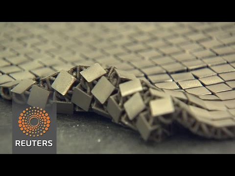 3D-printed 'chain mail' could provide protection in space
