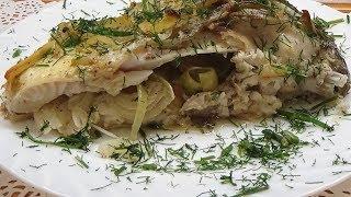 Карп в сметане запеченный в духовке Блюда из рыбы