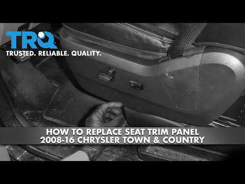 How to Replace Seat Switch Panel 2008-16 Chrysler Town & Country