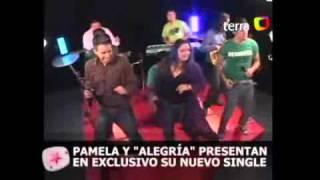 Alvaro Hernandez Junto a Pamela Leiva y Alegria en Terra (www.lgtropichile.com)