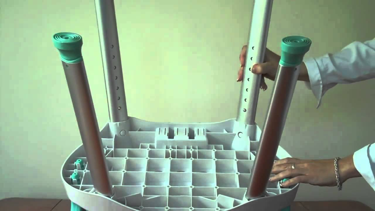 Carex EZ Bath and Shower Chair with Handles - YouTube