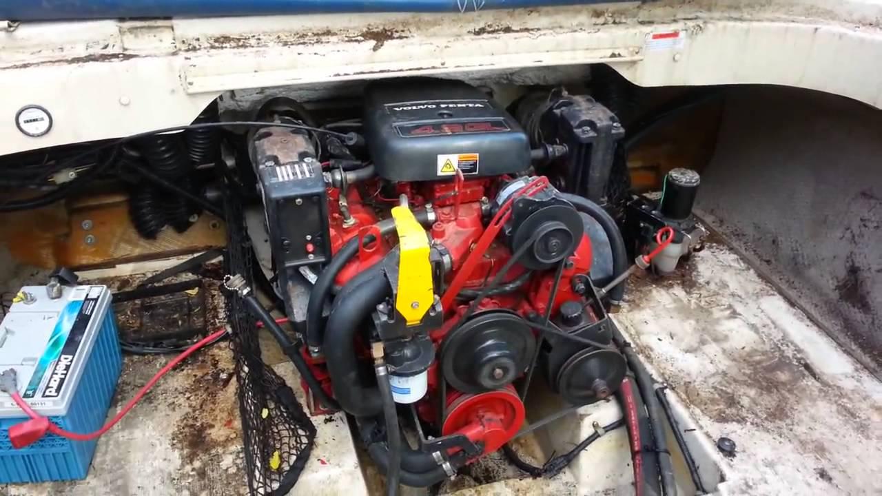 Мотор для катера Volvo Penta 43L GLA Колонка SXM бу