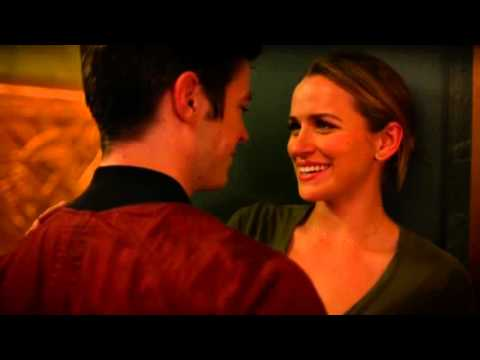 the flash 2014 2x6 Barry and Patty kiss