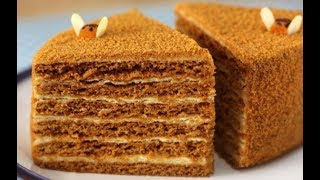 Торт Медовик классический - рецепт