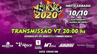KVR Kart 2020 - Vt completo da 4º etapa Aldeia da Serra