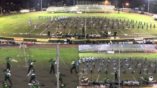 2012 MCHS Marching Band & Color Guard Electropolis