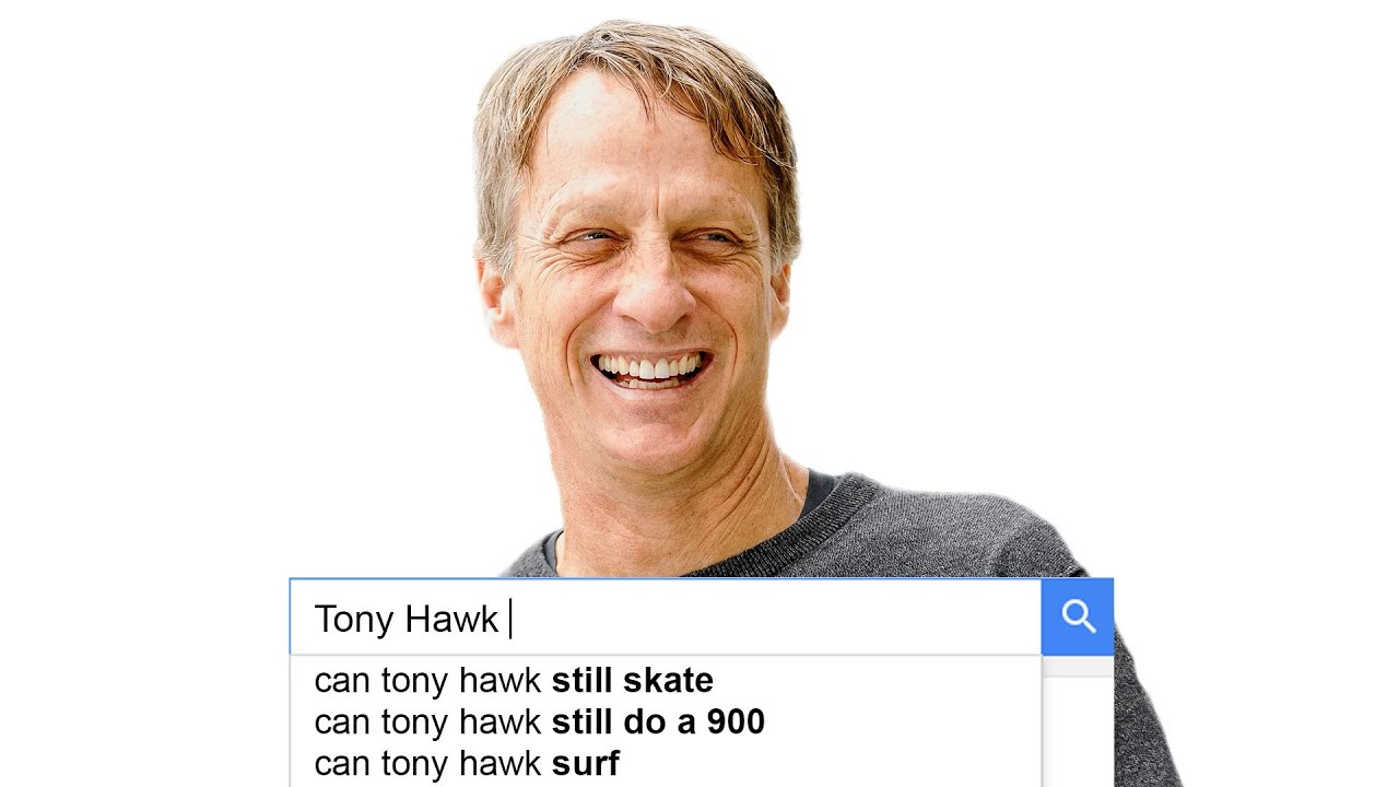 Tony Hawk Answers the Web's Most Searched Questions