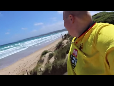 DRIVING ACROSS AUSTRALIA IN 26 MINUTES
