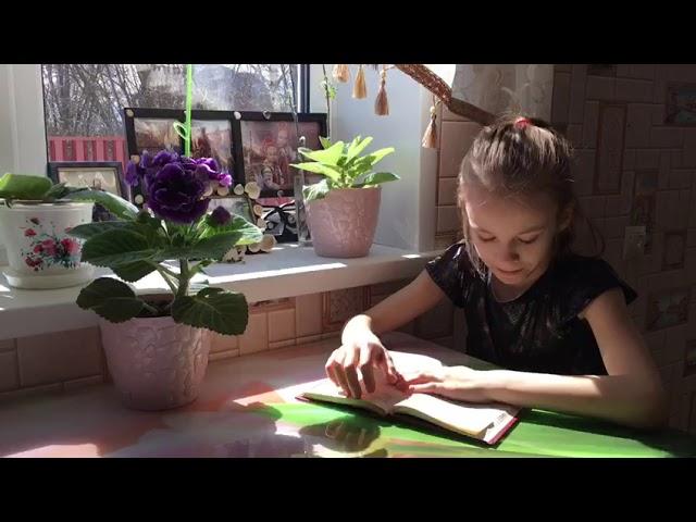 Изображение предпросмотра прочтения – МарияЧирикова читает отрывок изпроизведения «Вечера на хуторе близ Диканьки» Н.В.Гоголя